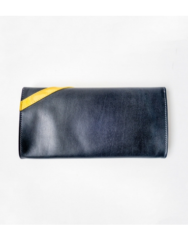 Rosette large evening clutch