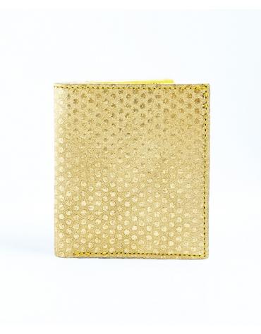 Porte-cartes carré avec billet